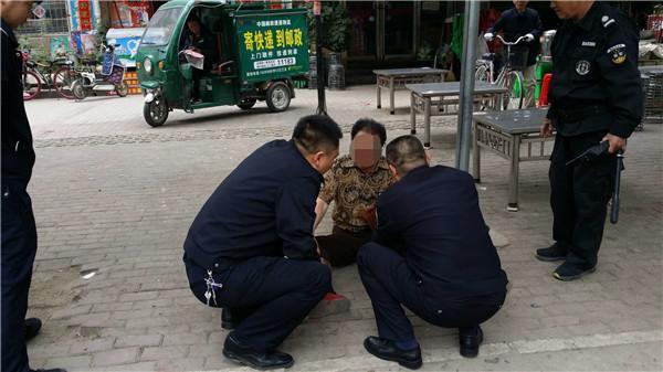 新野公安:汉城派出所积极救助醉酒男子