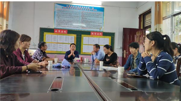 内乡县赤眉镇中心小学:送课下乡亮风采 结对帮教助扶贫
