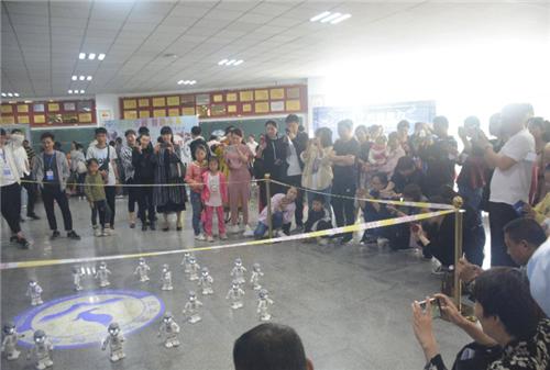 驻马店市中小学2019年创客嘉年华活动在市实验中学举行