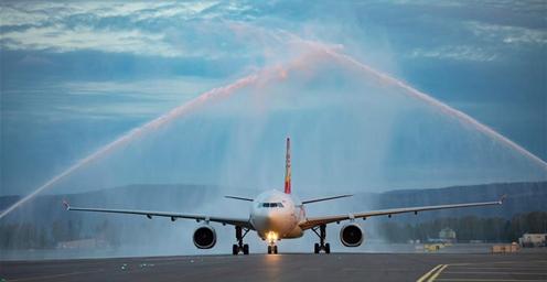 好消息!海南航空开通中国直飞挪威航线