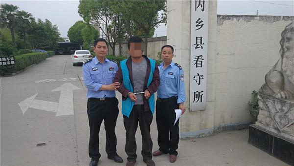 内乡县公安局赤眉派出所快速查处一起妨害民警执法案件