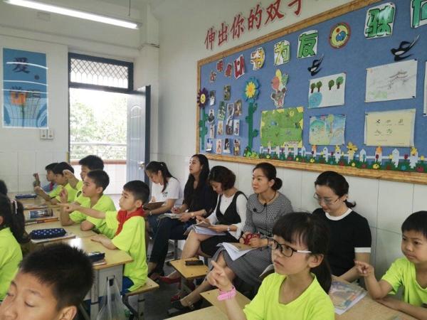 聚焦核心素养  挥洒青春雨露——优胜路小学举行青年达标课活动