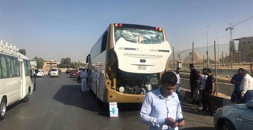 埃及一旅游巴士遭爆炸袭击 已造成14人受伤