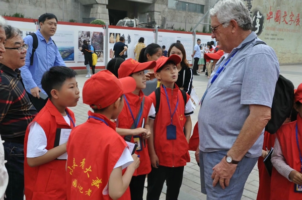 《文博大探秘》采访研学进行时 ——中华校园小记者走进河南省博物院