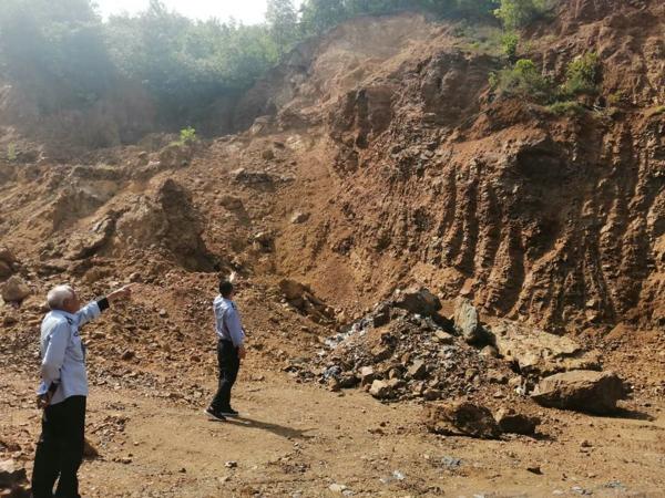 内乡县公安局赤眉派出所快速破获一起非法采矿案件