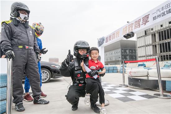 一汽丰田亚洲龙郑州区域试驾会在昌建博泰国际汽车公园举行