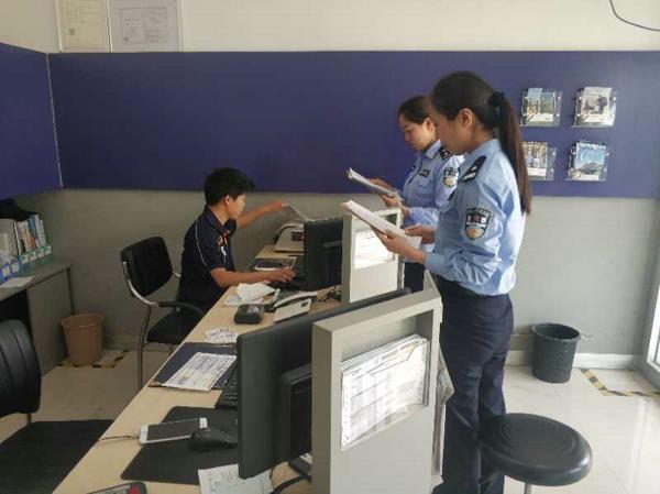 邓州:穰东派出所扎实开展寄递物流业安全检查