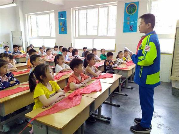 """优胜路小学:队前教育 让入队充满""""仪式感"""""""