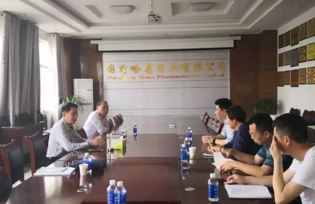 市市场监管局赵为民副局长到上海现代哈森(商丘)药业有限公司督导安全生产工作