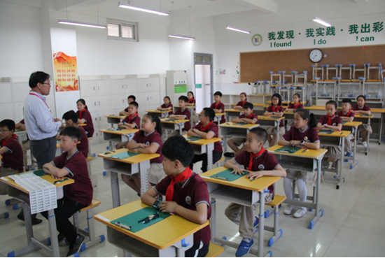 内涵活动  彰显品质 ——记郑州高新区外国语小学参加2019年国家义务教育质量监测活动