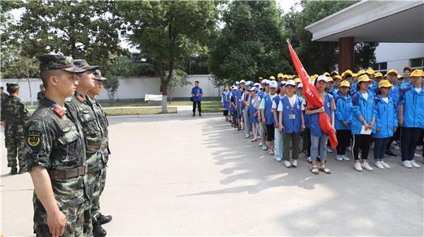 """邓州:""""六一""""前夕百名青少年走进警营接受法制教育"""