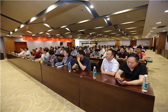 350名南阳精英齐聚郑州 只为聆听这堂党建文化课