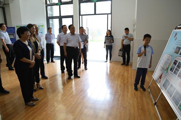 郑州市教育督导组深入中原区新街坊小学开展教育教学督导工作