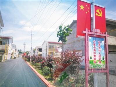 郏县冢头镇花园村:村民生活在花园里