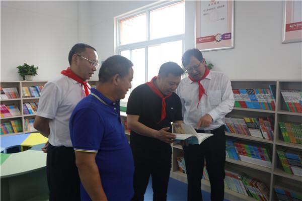 """邓州农商银行举行""""爱心书屋""""捐赠仪式"""