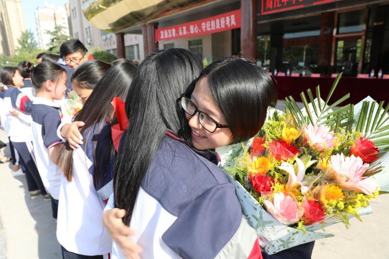 最美的时光,最好的我们——商丘中学·商丘经济开发区第一高级中学2019届高三毕业典礼暨高考壮行会