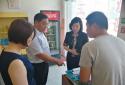 市市场监督管理局副局长孟锦涛带队检查农村及校园周边食品安全