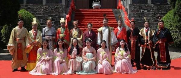 吴道子五十二代后裔吴娜收徒仪式