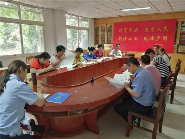 邓州:新华派出所组织召开走访工作对接会