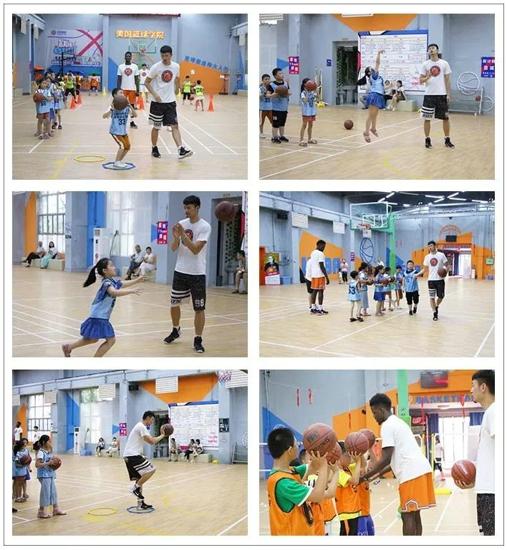 挥汗一场!中华校园小记者走进美国篮球学院,感受美式篮球魅力