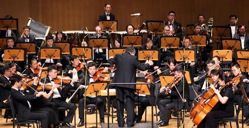 大型原创交响乐《长城》在京首演 畅想美好未来