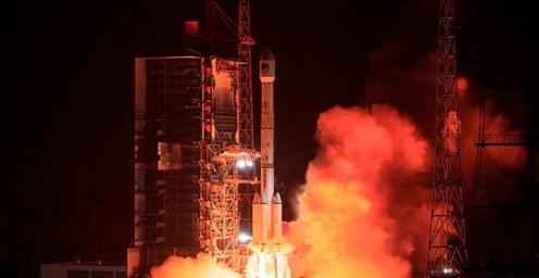 今日02时09分 我国成功发射第46颗北斗导航卫星