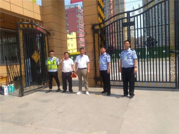 邓州湍河派出所全力以赴确保中考安保有序有力