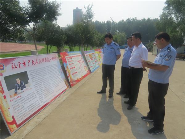 桐柏公安:广场宣传来禁毒 走村入户再深入