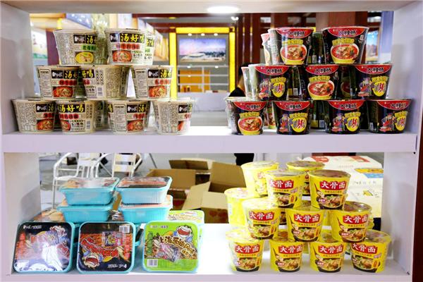 倡导中国好面食 白象食品代表河南参加第八届食品食材展