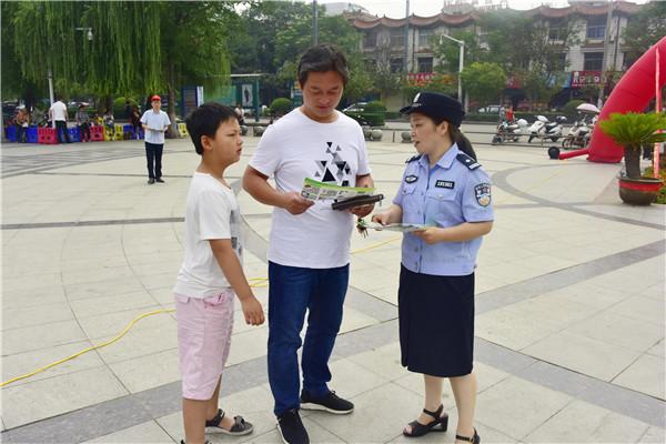"""邓州禁毒委组织开展""""6.26国际禁毒日""""宣传教育活动"""