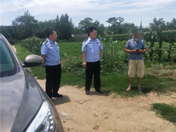 新野汉华辖区民警走村入户进店访企的日常