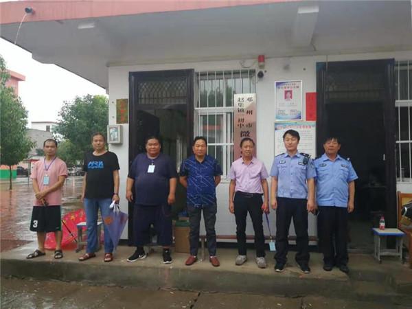邓州赵集派出所对辖区学校开展安全隐患大检查