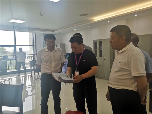 河南省院执行局执行一庭庭长吕达到内乡法院指导执行工作