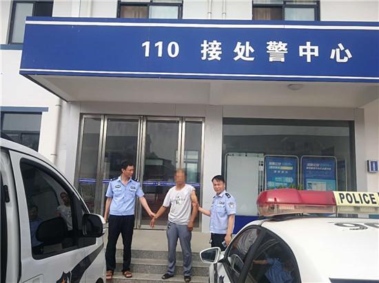 邓州构林派出所:民警走访入户遇男子 抓捕巡查是网上逃犯