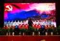"""郑州航空港经济综合实验区""""迎民族盛会·庆七十华诞""""合唱比赛举行"""