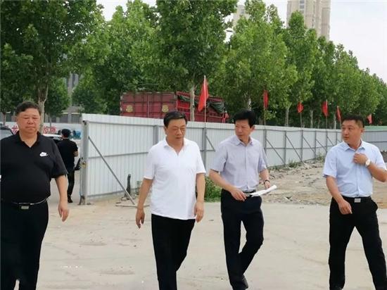 南阳市市长霍好胜调研卧龙岗武侯祠文化园剪影