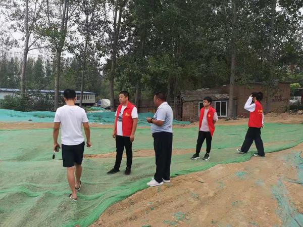 郑州市兴达路街道办事处:吹响志愿服务号角 打造红色风景线
