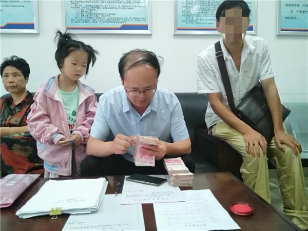 桐柏:交通事故引纠纷 执行法官耐心调解促执行