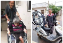 岞曲镇民政所关爱残疾人 为困难残疾人免费发放轮椅