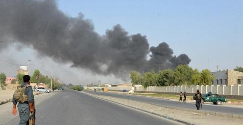 阿富汗坎大哈省警察总部遭汽车炸弹袭击 伤亡情况不明