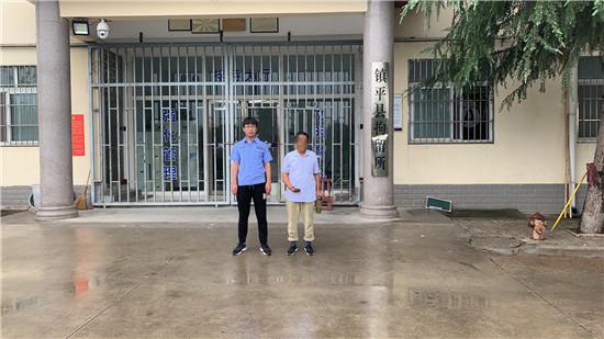 """镇平县法院:奏响雨中执行""""进行曲""""撑起司法为民""""艳阳天"""""""