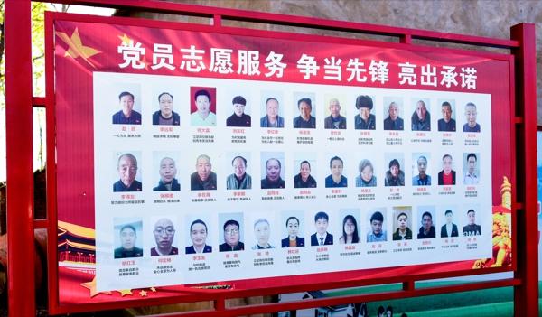 """正阳县永兴镇:党员""""亮身份"""" 服务树形象"""