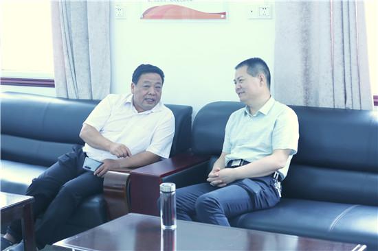 邓州法院杨俊华院长到基层法庭调研工作
