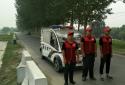 """郑州市兴达路街道:巡河小分队上线 """"红马甲""""为防汛保驾护航"""