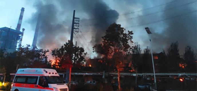 三门峡气化厂爆炸
