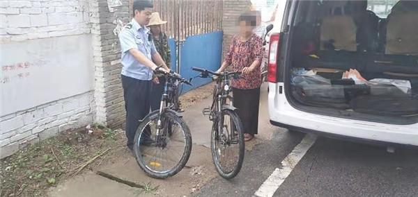 自行车失主:本不报希望 谁料民警这么尽心