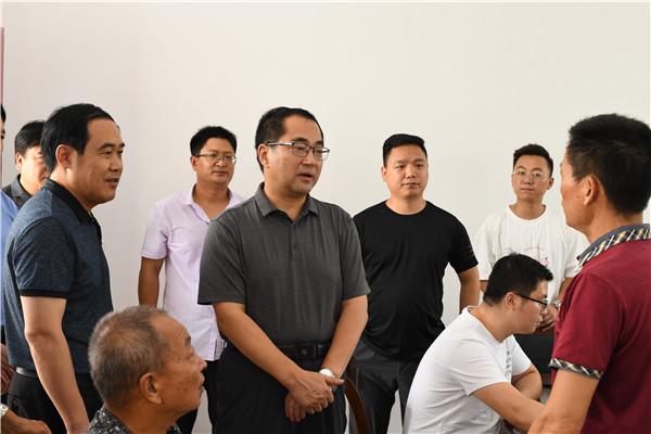 秦德平院长到唐河县调研人民法庭工作