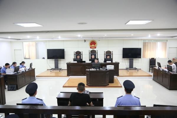 """镇平县法院:""""法检两长""""同时出庭 公开审理涉黑案件"""