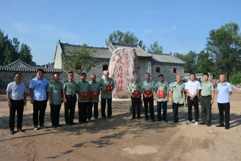 张弓镇举行庆祝建军92周年及淮海战役胜利70周年活动