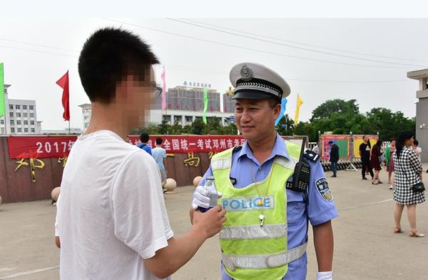 邓州市公安局:老兵肖仁尊的为民情怀